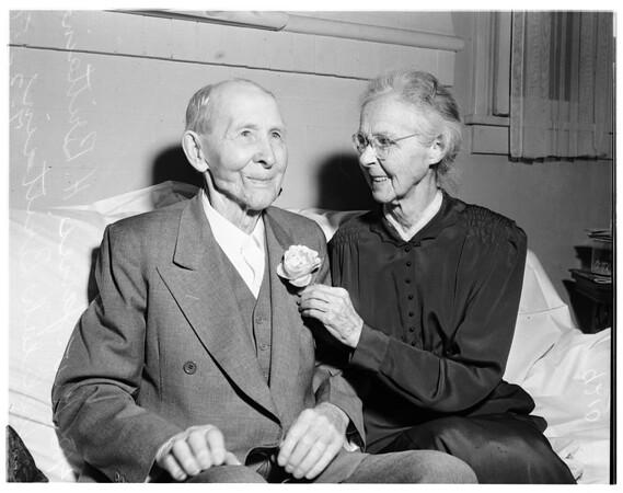 70th wedding (Ontario), 1951