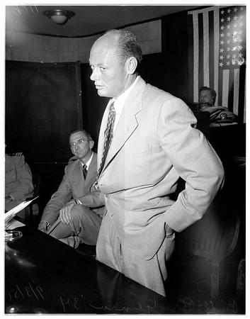 Skyrocket interview, 1951