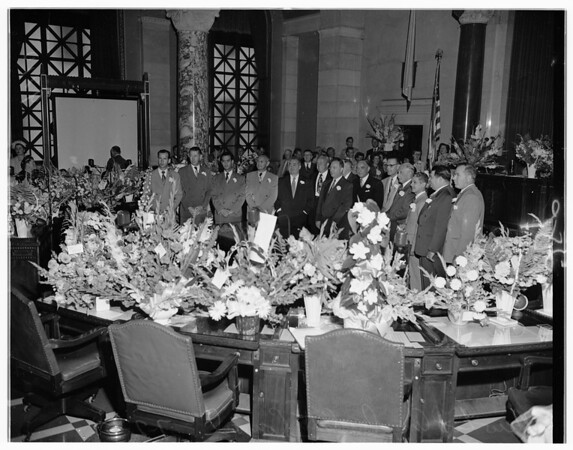 New city council, 1951