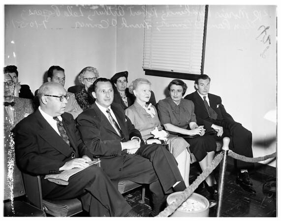 Lela Rogers Case, 1951