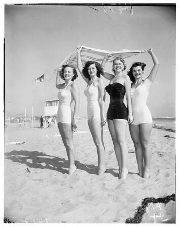Challange Florida poster girls, 1951