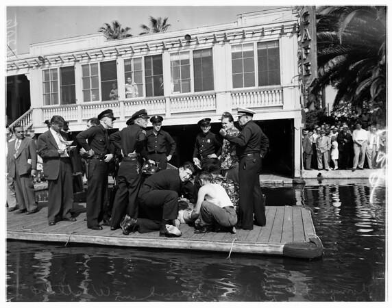 Drowning at MacArthur, 1951