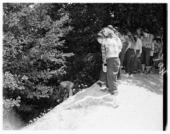 Camp Hi -- Hill at Mount Wilson, 1951