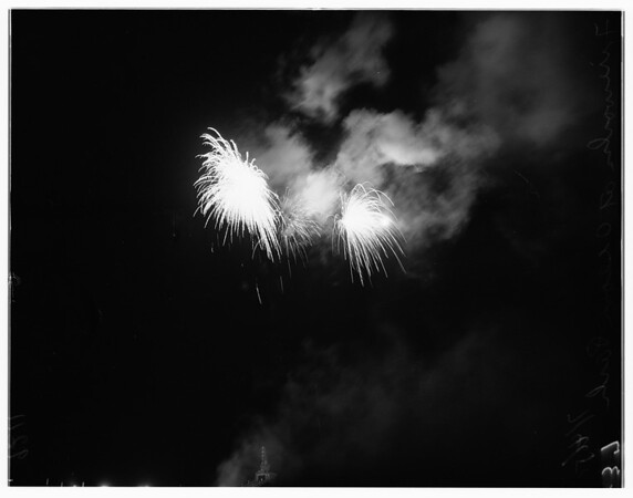 Fireworks, 1951