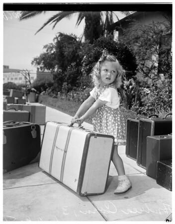 Salvation Army summer camp at Redondo, 1951
