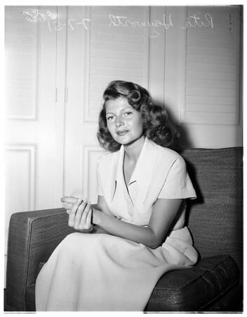 Rita Hayworth, 1951