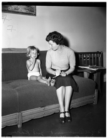 Lost girl, 1951