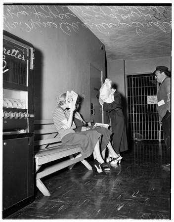Narcotics suspect, 1951