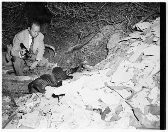 Hansen murder story, 1951