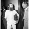 Sidewalk preacher release, 1951