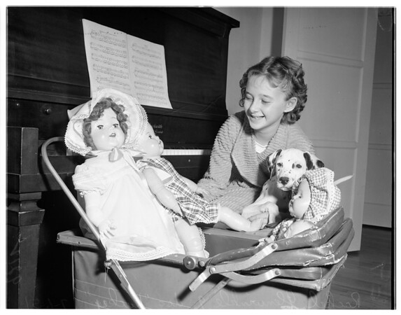Heart operation on child, 1951