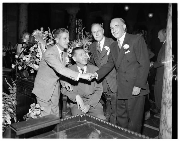 New city council, 1951