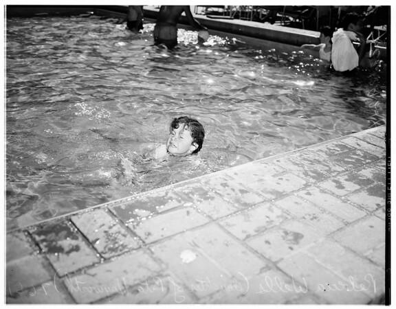 Daughter of Rita Hayworth, 1951