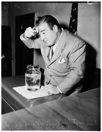 Costello Ice Machine suit, 1951