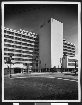 Western Home Office for Prudential Insurance Co., Wilshire Blvd., 1952
