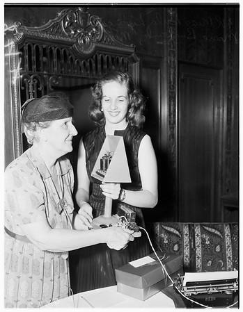 Morse Telegraph Clubs...One hundredth anniversary, 1951