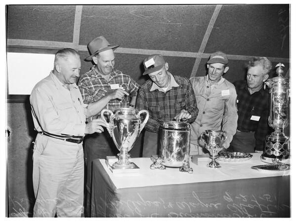National Rifle Shoot, National Rifle Association matches, 1951 dfghd