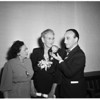 Italian Women's Club holds family annual dinner party ...President emeritus receives Republic of Italy award, 1951