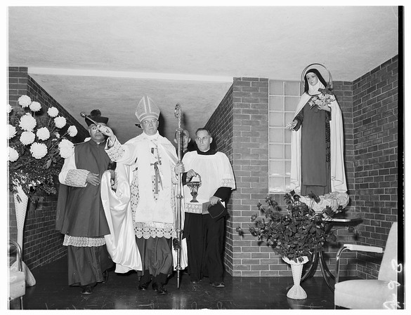 Sanitarium Dedication (Santa Teresita), 1951