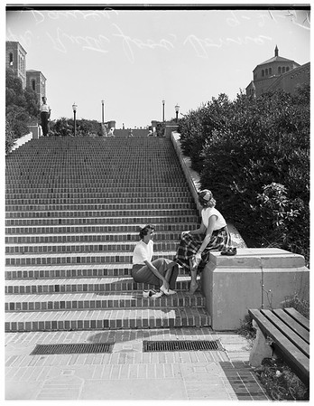 University of California Los Angeles Orientation Day, 1951