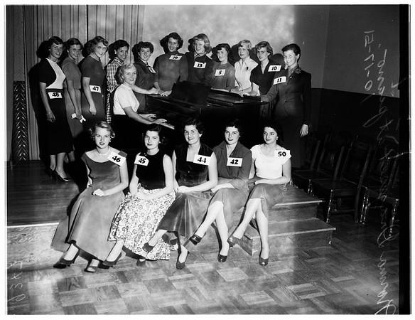 Cinderella contest (Pasadena), 1951