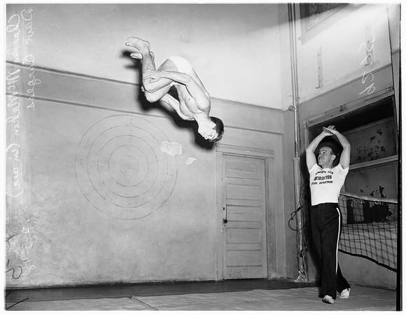 Young Men's Christian Association gymnasts, 1948