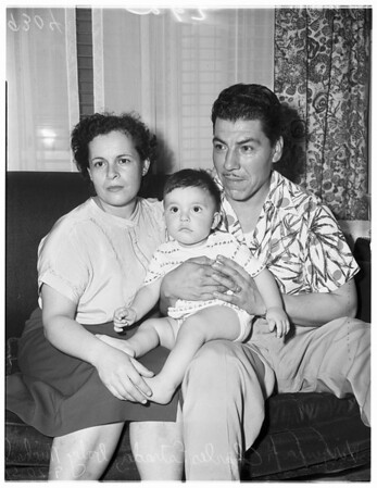 Baby mix-up story, 1951