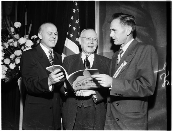 William Green of American Federation of Labor, 1951