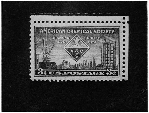Chemical Society commemorative stamp, 1951