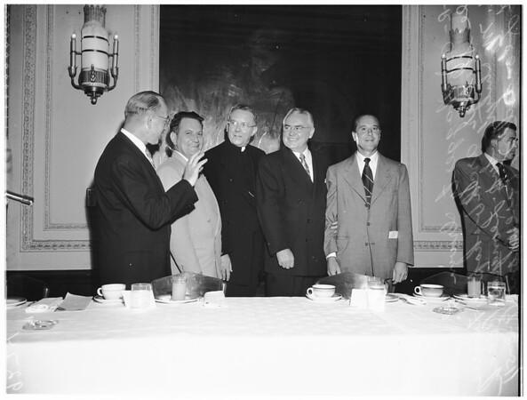 Labor Day breakfast, 1951