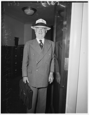 Retires from Federal Bench, 1951