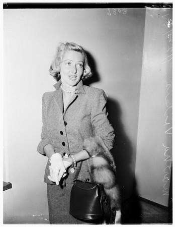 Vickers divorce, 1951