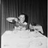 Pancake champion eater, 1951