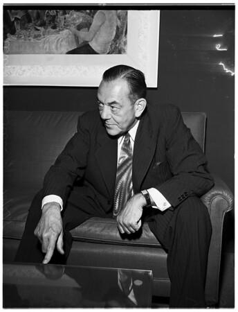 Interview (National Association of Manufacturers), 1951
