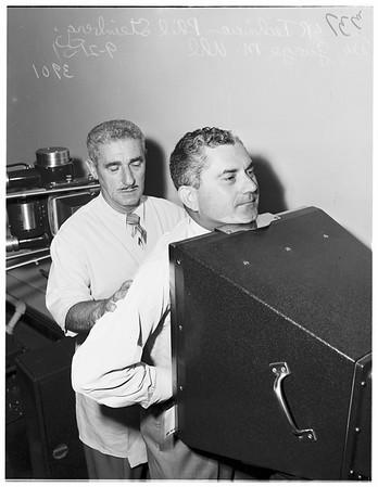 X-rays...City Health...Tenth floor, 1951