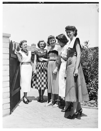 Society (Van Nuys Junior Chamber of Commerce Women Planning Party), 1951