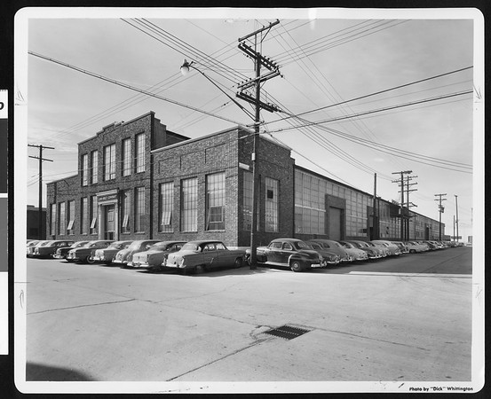 Link Belt Co. building bought by City of Los Angeles for library, 1958
