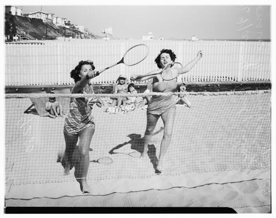 Pacific Coast Club girls sports, 1949