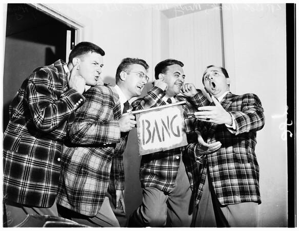 Barber Shop Quartet parade, 1951