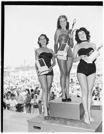 Miss Muscle Beach, 1951