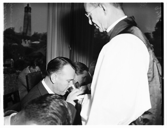 Laymen's Conference...Huntington Hotel, 1951.
