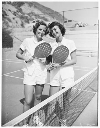 Society -- Bel-Air Beach Club, 1951