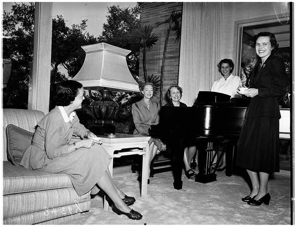 Pasadena Philharmonic Committee, 1951