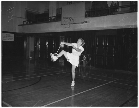 Pasadena Athletic Club badminton, 1949