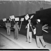 Douglas Aircraft Company strike (Long Beach) pickets, 1951