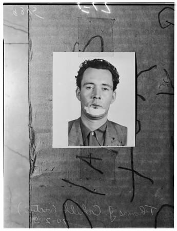 San Francisco murder, 1951