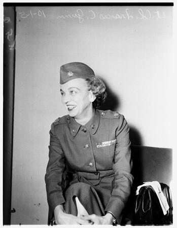 Army Nurse Interview, 1951