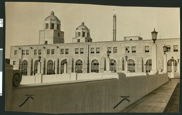 United States Post Office Terminal Annex, Alameda & Macy St., Los Angeles, 1940