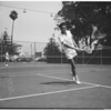 Santa Monica tennis tournament, 1948