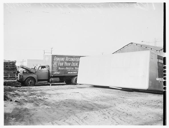 Strike riot -- Meyer-Welch (Vernon), 1951